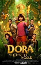 Movie poster Dora i miasto złota